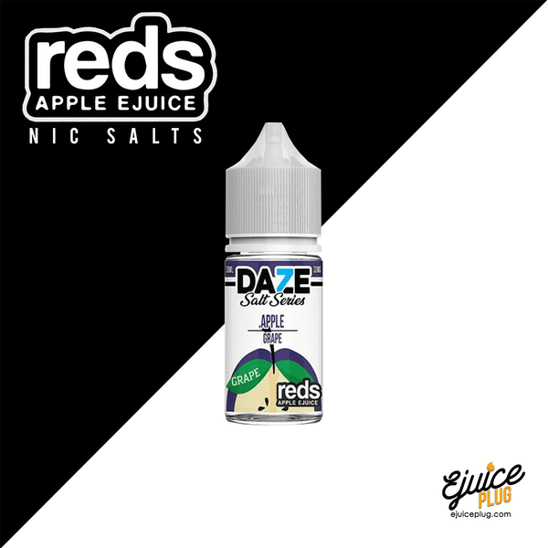 7 Daze,- Grape Red's Apple Salt by 7 Daze 30mL - E-Juice Plug