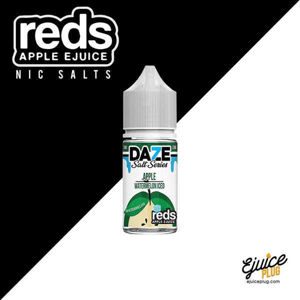 Watermelon Iced Red's Apple Salt by 7 Daze 30mL