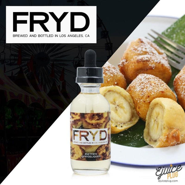 FRYD,- Fried Bananas 60ml by FRYD E-Liquid - E-Juice Plug