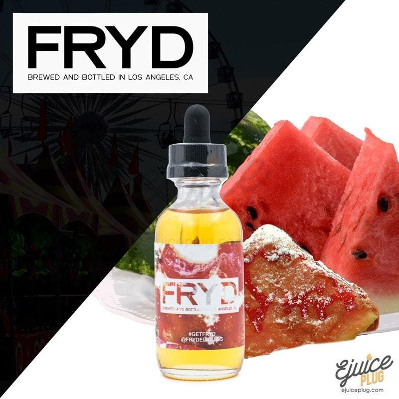 FRYD,- FRYD - Watermelon - E-Juice Plug