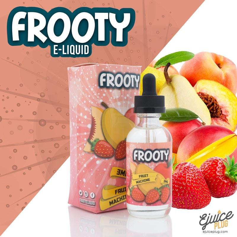 Frooty,- Fruit Machine by Frooty E-Liquid 60ml - E-Juice Plug