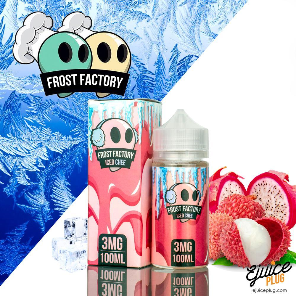 Frost Factory,- Frost Factory E-Liquid Iced Chee-100ml - E-Juice Plug