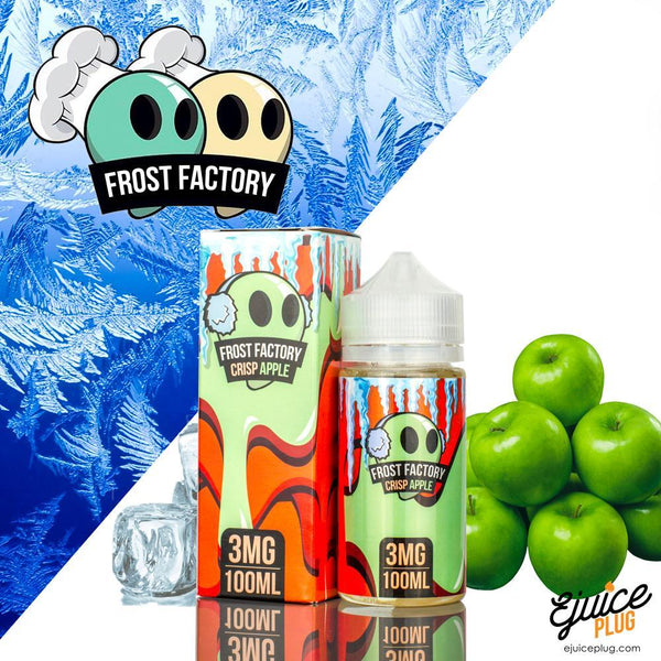Frost Factory E-Liquid Crisp Apple-100ml