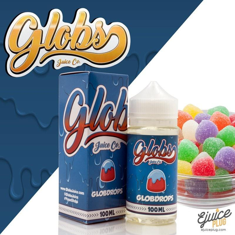 Globs Juice Co.,- Globdrops 100ml by Globs Juice Co. - E-Juice Plug
