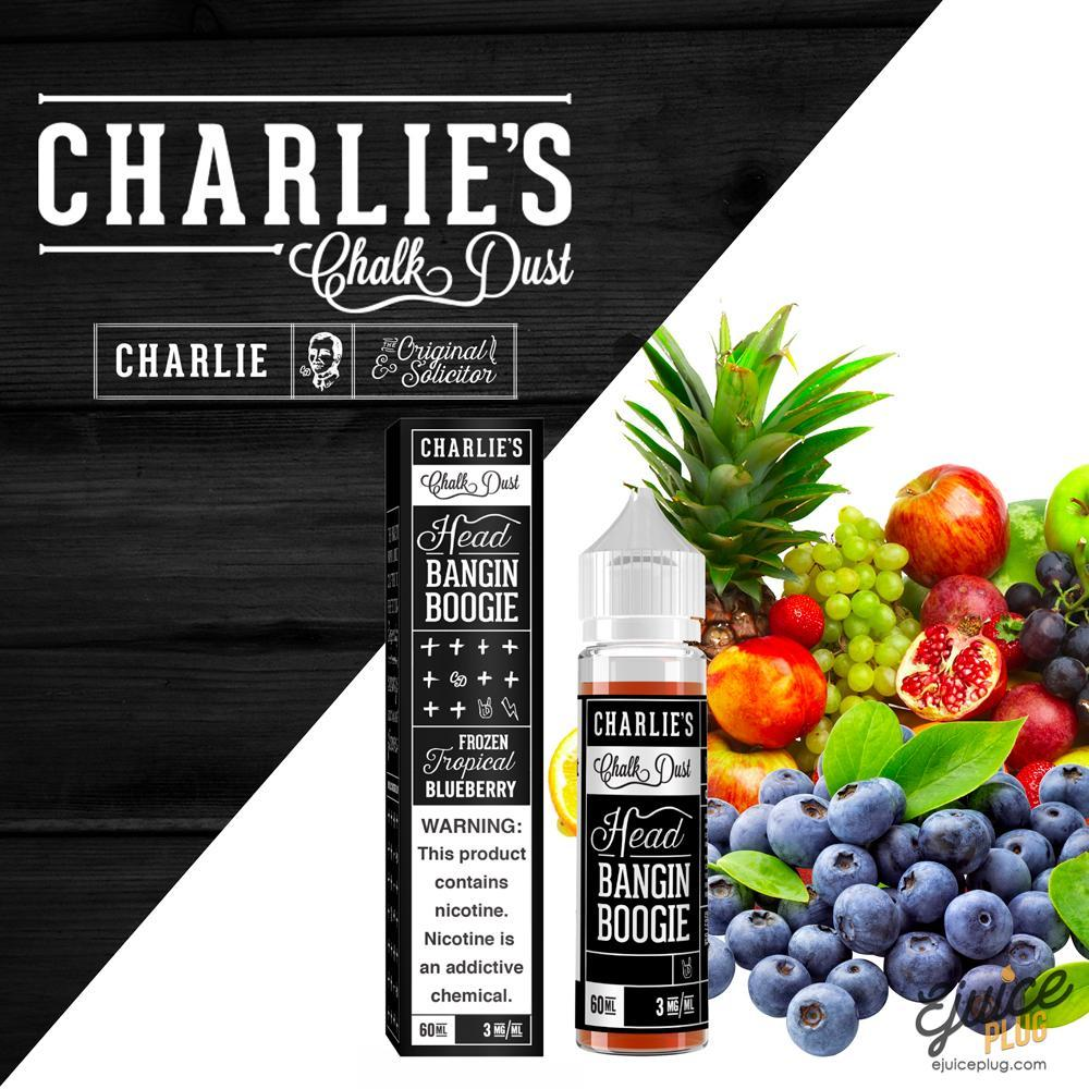 Charlie's Chalk Dust,- Head Banging Boogie by Charlie's Chalk Dust Black Label 60ml - E-Juice Plug
