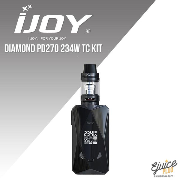 IJOY,- iJoy Diamond PD270 Kit - E-Juice Plug