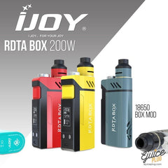 IJOY,- iJoy RDTA Box 200W Kit - E-Juice Plug