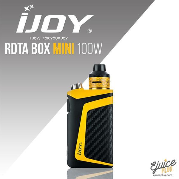 IJOY,- iJoy RDTA Box Mini 100W Kit - E-Juice Plug