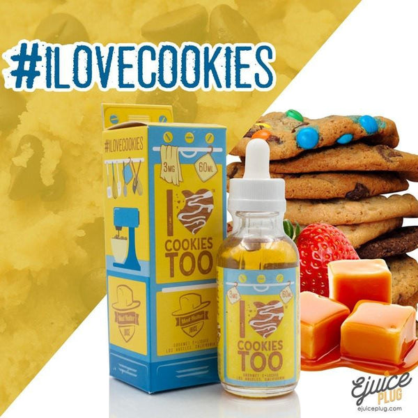 Mad Hatter,- I Love Cookies Too by Mad Hatter E-Juice 60ml - E-Juice Plug