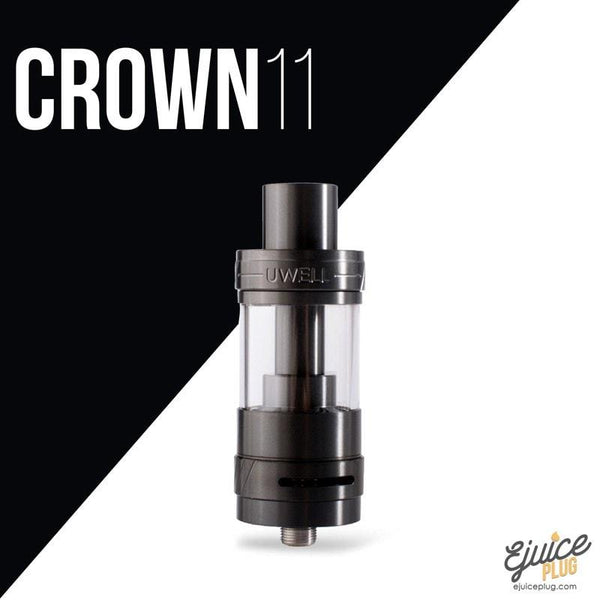 Uwell,- Iridescent Black Crown v2 Tank by Uwell - E-Juice Plug