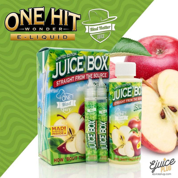 One Hit Wonder,- Juice Box by One Hit Wonder 180ML - E-Juice Plug