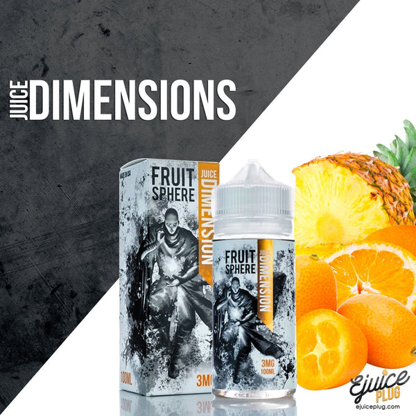 Juice Dimension,- Fruit Sphere by Juice Dimensions - E-Juice Plug