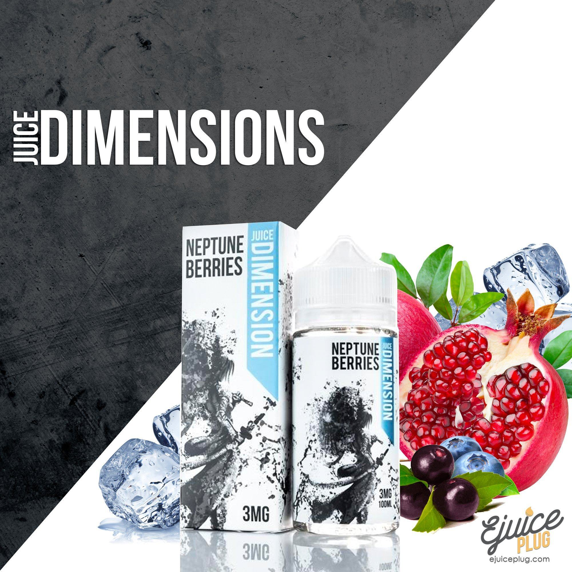 Juice Dimension,- Neptune Berries By Juice Dimensions - E-Juice Plug