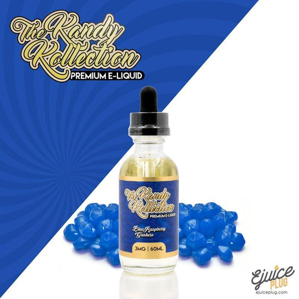 The Kandy Kollection,- Blue Raspberry Gushers - The Kandy Kollection E Liquid 60ML - E-Juice Plug