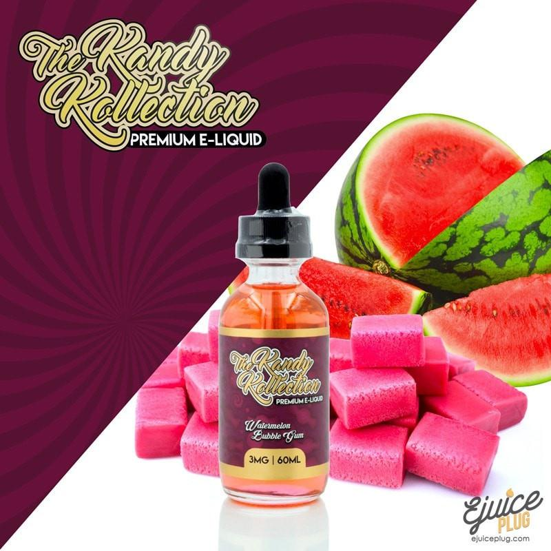 The Kandy Kollection,- The Kandy Kollection - Watermelon Bubble Gum 60ml - E-Juice Plug