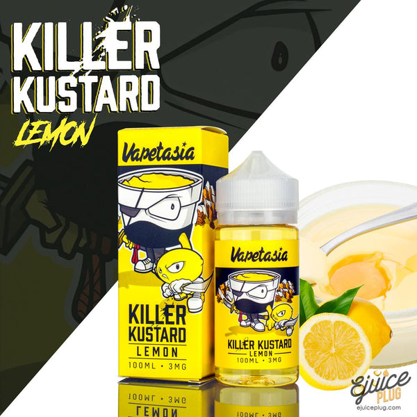 Vapetasia E-Liquid Lemon Killer Kustard 100mL