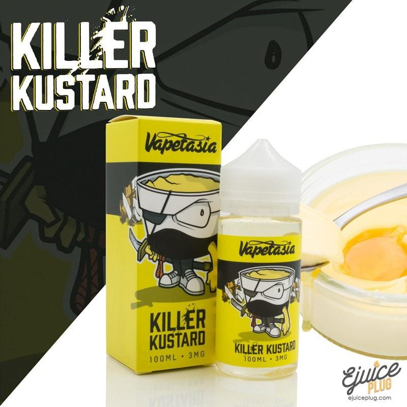 Killer Kustard,- Killer Kustard E Liquid by Vapetasia 100mL - E-Juice Plug