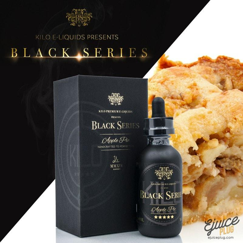 Kilo,- Kilo - Black Series Apple Pie 60ml - E-Juice Plug