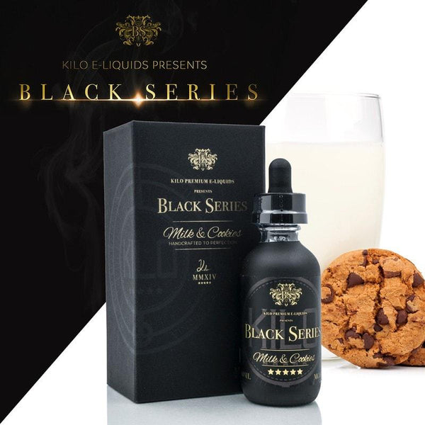 Kilo,- Milk & Cookies 60ml by Kilo Black Series - E-Juice Plug