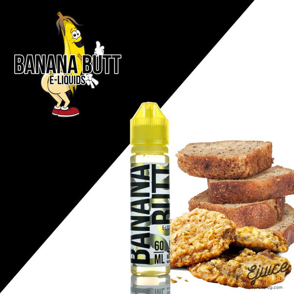 Left Cheek By Banana Butt E-Liquids