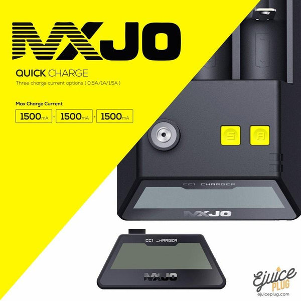 MXJO,- MXJO - CC1 3 Bay eGo Battery Charger - E-Juice Plug