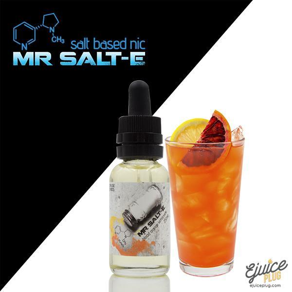 Mr. Salt-E,- Mr. Salt-E Blood Orange Lemonade - E-Juice Plug