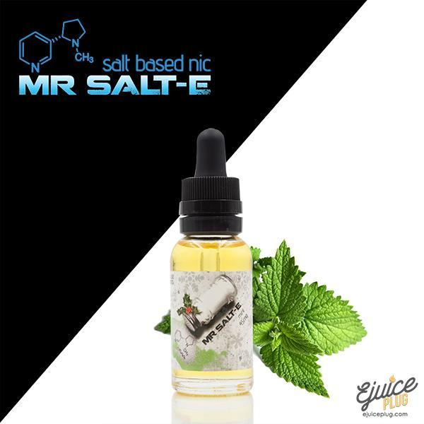 Mr. Salt-E,- Mr. Salt-E Mint - E-Juice Plug