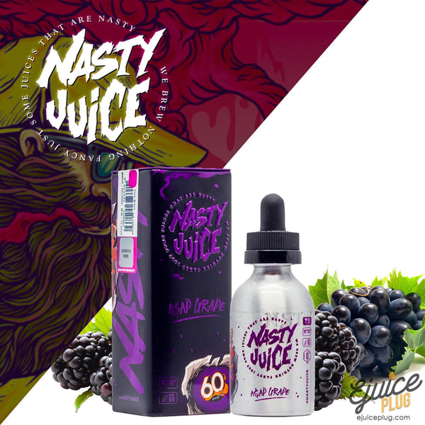 Nasty Juice,- ASAP Grape by Nasty Juice 60ml - E-Juice Plug