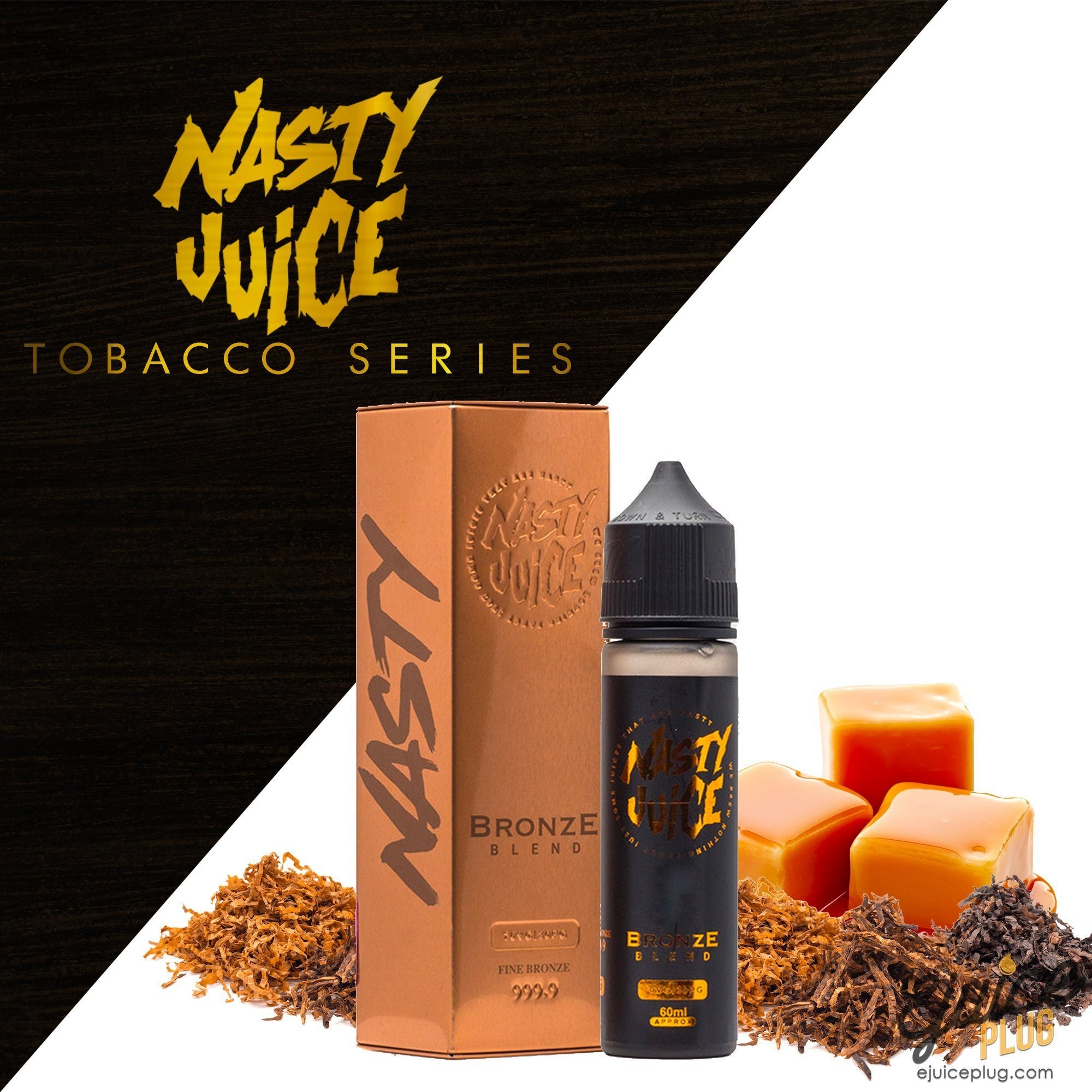 Nasty Juice,- Bronze Blend Tobacco Series by Nasty Juice 60ml - E-Juice Plug