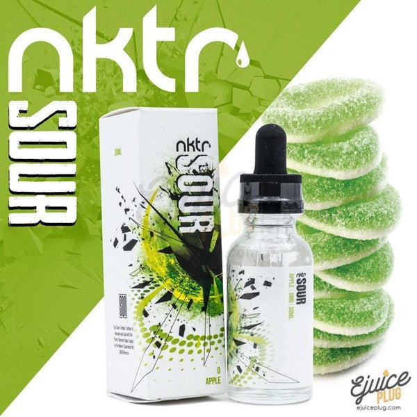 NKTR,- NKTR Sour - Apple - E-Juice Plug
