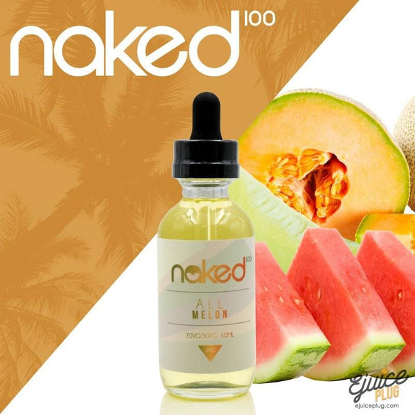 Naked100,- All Melon by Naked 100 60ml E-Liquid - E-Juice Plug