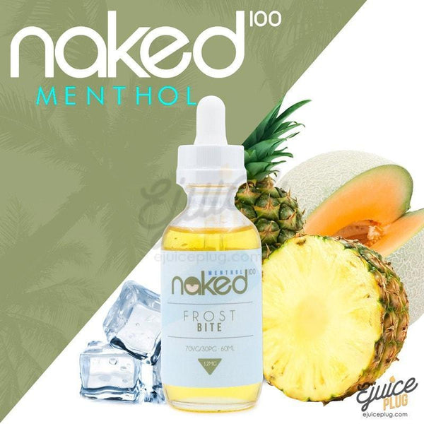 Naked100,- Polar Freeze (Formally Frostbite) by Naked 100 60ml E-Liquid - E-Juice Plug
