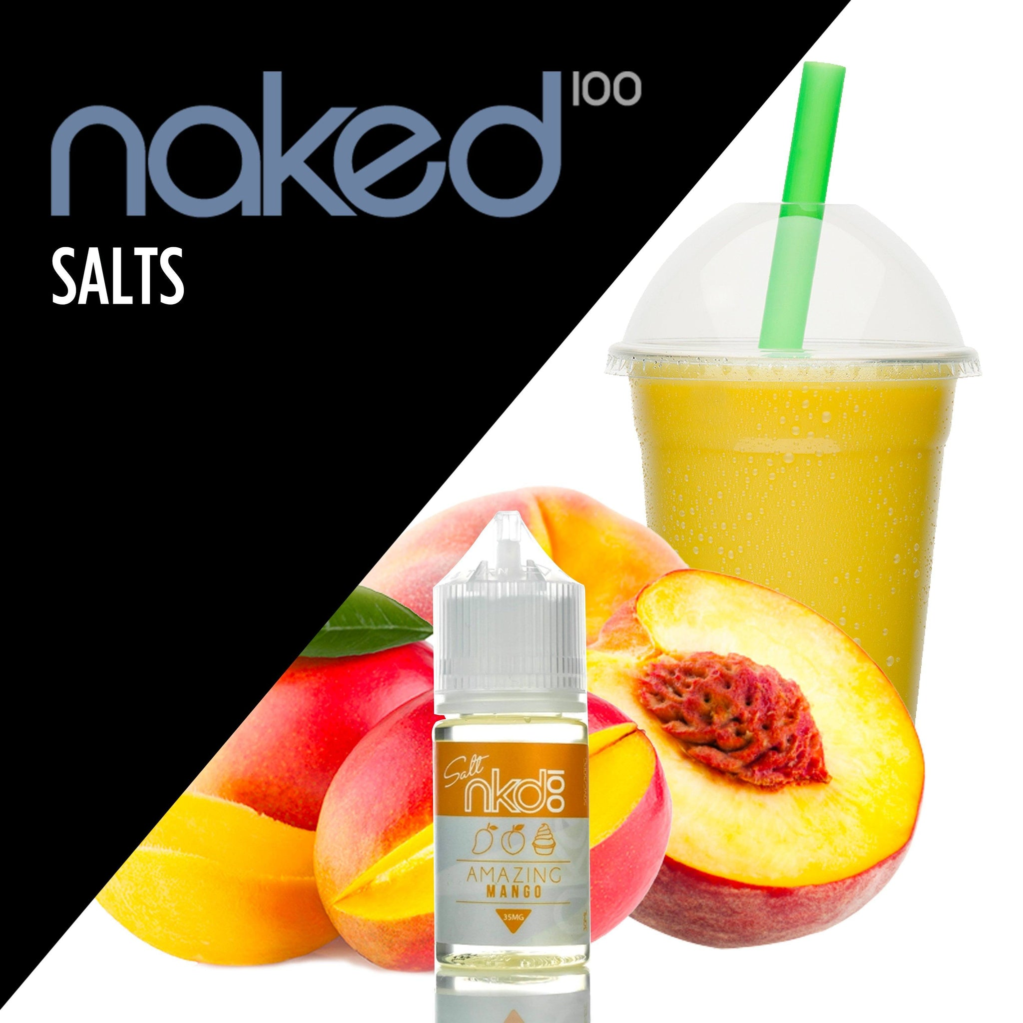 Naked 100 Salts,- Amazing Mango by Naked 100 Salts - E-Juice Plug