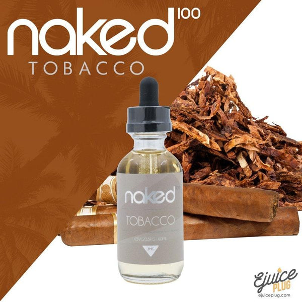 Naked100,- Cuban Blend 60ML by Naked 100 Tobacco E-Liquid - E-Juice Plug