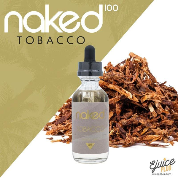 Naked100,- NAKED100 TOBACCO - EURO GOLD - 60ML - E-Juice Plug