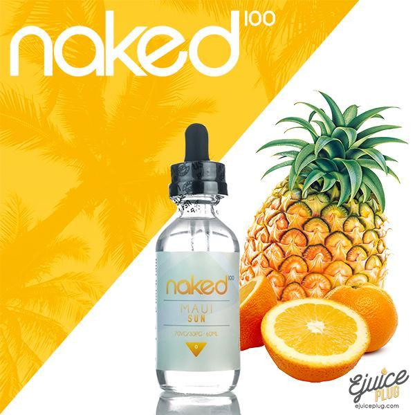 Naked100,- Maui Sun by Naked 100 60ml E-Liquid - E-Juice Plug