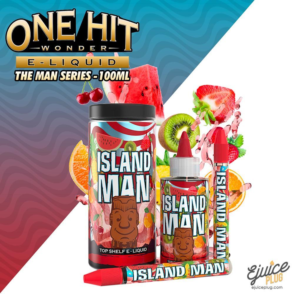 One Hit Wonder,- Island Man 100ML by One Hit Wonder E-Liquid - E-Juice Plug