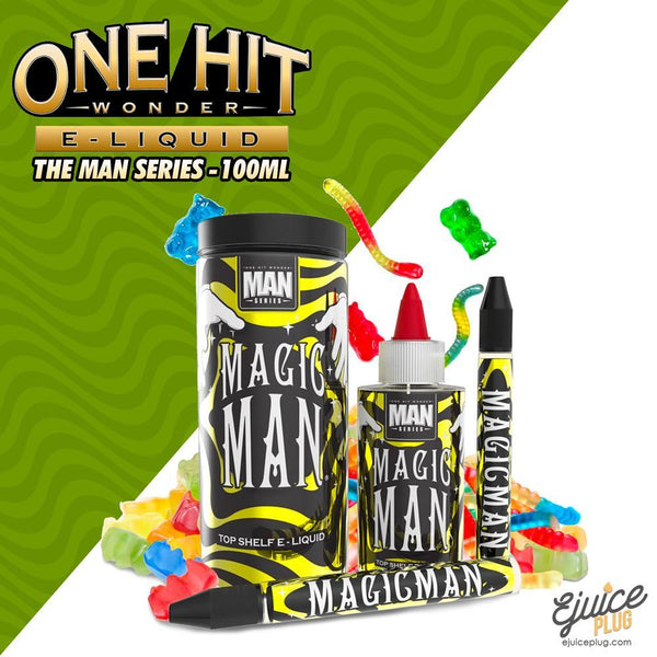 One Hit Wonder,- Magic Man 100ML by One Hit Wonder E-Liquid - E-Juice Plug