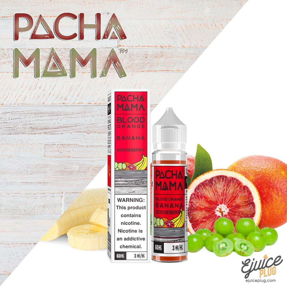 Pacha Mama,- Blood Orange Banana Gooseberry by Pacha Mama 60ml - E-Juice Plug
