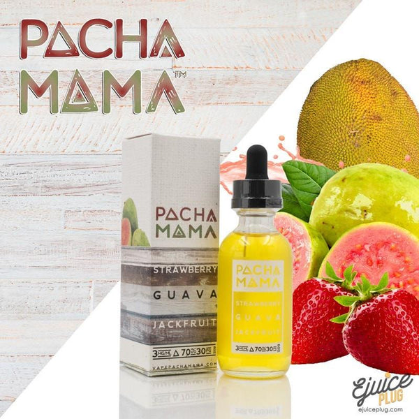 Pacha Mama,- Strawberry Guava JackFruit Ejuice By PACHAMAMA 30ml - E-Juice Plug