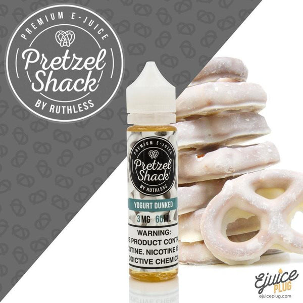 Pretzel Shack,- Pretzel Shack Yogurt Dunked E-Juice 60ML - E-Juice Plug