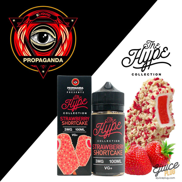 Strawberry Shortcake The Hype Collection by Propaganda E-Liquid