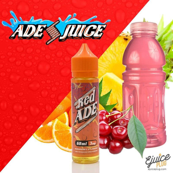 ADE VAPE,- Red ADE by ADE Juice - 60ml - E-Juice Plug