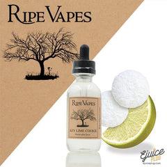 Ripe Vapes,- RIPE VAPES - Key Lime Cookie - E-Juice Plug