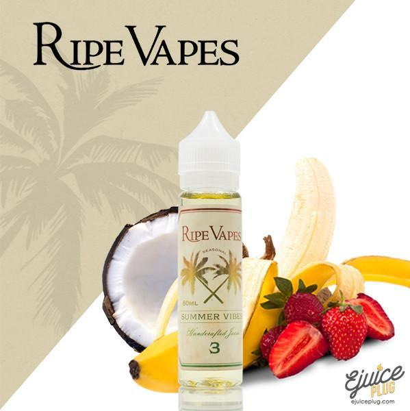 Ripe Vapes,- RIPE VAPES - Summer Vibes - E-Juice Plug