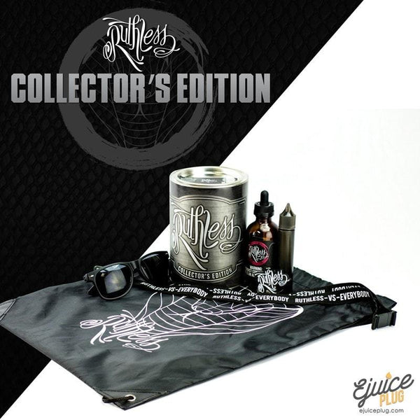 Ruthless E-Juice,- Ruthless Vapor - Collector's Edition E-juice Pack - E-Juice Plug