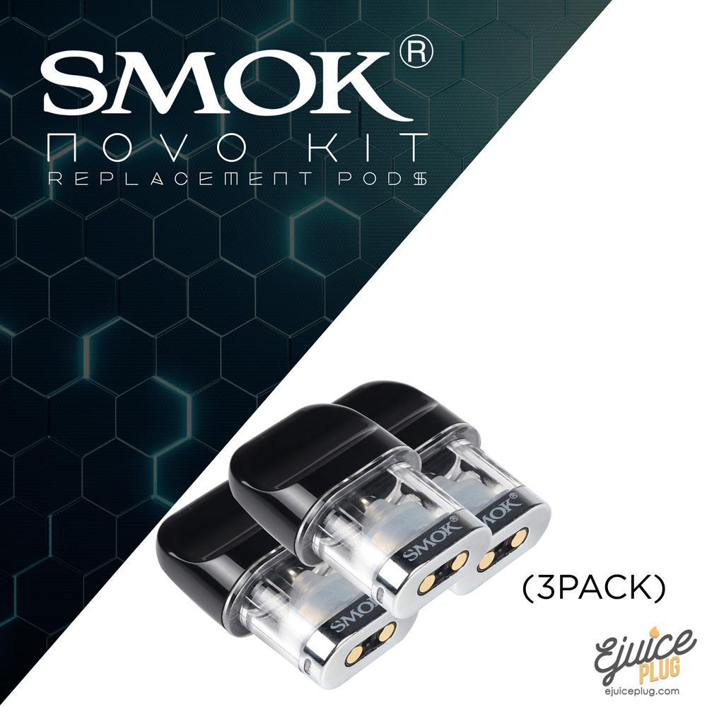 Smok Novo Replacement Pods (3pack)