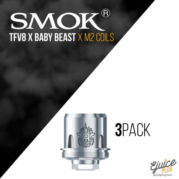 SMOK,- Smok Baby Beast Brother X Replacement Coil - 3 Pack - E-Juice Plug
