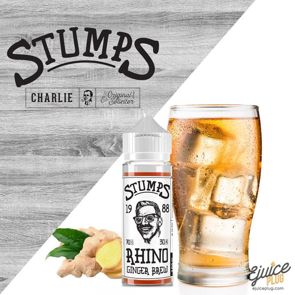 Stumps,- Rhino by Stumps Charlie's Chalk Dust - E-Juice Plug