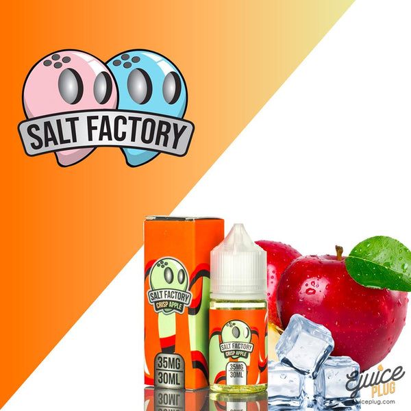 Salt Factory,- Crisp Apple by Salt Factory - E-Juice Plug